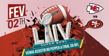 Assista o Super Bowl 2020 no Pepper Jack!